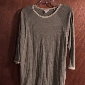 LuLaRoe Randy M army green Has brushed, soft look.